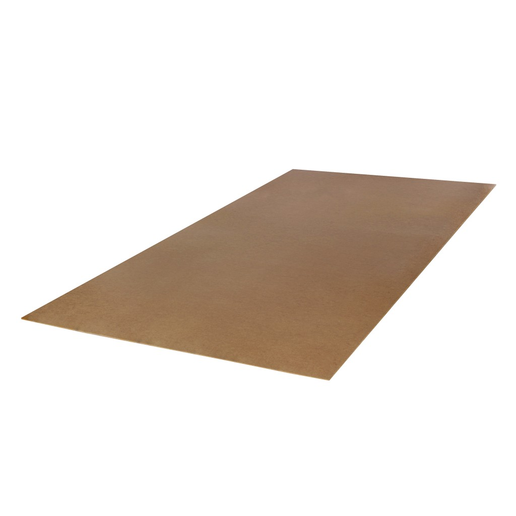 hardboard plaat wit